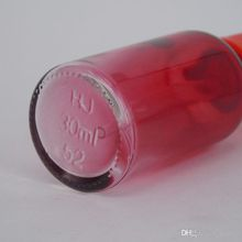 hot sale skincare cosmetic 30ml gradient glass dropper bottle with dropper cap 1oz essential oil bottle