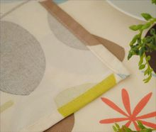 leaves printed polyester tablecloth/table cloth