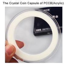 Big Size Wholesale 100% Acrylic Circulation Popular Good Quality Coin Crystal Collection Box Manufacturer 10pcs/set Drop Shipping