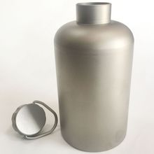 Titanium portable outdoor bottles and camping camping bottles
