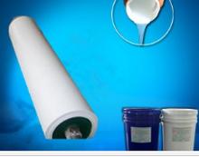Silicone rubber roller liquid