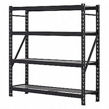 Longspan shelving and shelves, hardware & tools stacking rack