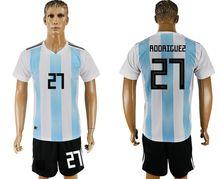 148a83cafee ... Argentina Soccer jerseys 2018 World Cup Jersey retro uniforms kit kids  wholesale training survetement football goalkeeper