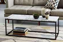living room mirrored console table cafe table coffee