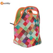 Eco-friendly Lightweight Neoprene Lunch Bag Tote for Kids and Adults