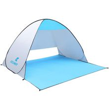 Manufacturers wholesale tents, beach tents KEUMER guang jie auto speed on folded double fishing tents outdoor