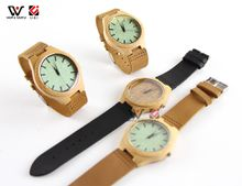 Real wood bamboo watch business gift wood factory wholesale digital watches fashion accessories