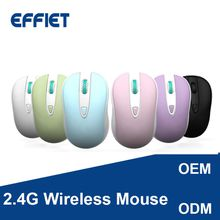 Factory OEM New 2.4G Optical Small Wireless Mouse silent click mute computer mice with nano receiver adjustable 1600 DPI for Mac