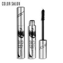 Color Salon 3D Mascara long lasting curling eye makeup Beauty waterproof eyelash 12g Mascara