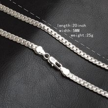 Free shipping! Lowest Price 925 Sterling Silver Box Chain Necklaces Jewelry TOP Quality 18inch 925 Sterling Silver Chains fashion jewelry
