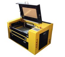 ZD-5030 50w 500x300mm high grade co2 laser engraving cutting machine cutter engraver for acrylic