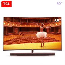 TCL Curved TV 65 Inch 65C7 Split Sound Ultra Thin Screen 4k Ultra HD Artificial Intelligence 136% High Color Range Black 65 Inch