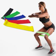 100% natural latex resistance band loop body building fitness exercise high tension muscle home gym for leg ankle weight training