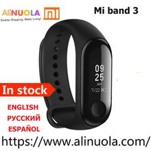 "Original Xiaomi Mi Band 3 Wristband 0.78"" OLED Display Touchpad Heart Rate Monitor Bluetooth Smart Bracelet"