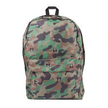 2018 summer new best selling personality camouflage printing large capacity cotton casual men and women portable backpack