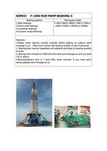 BEARING (NUP464776Q4/C9YA4)FOR BOMCO F-1300 MUD PUMP