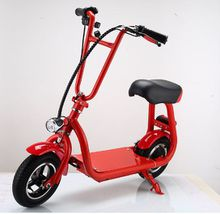 10 inch folable mini harley citycoco electric scooter 36V 350w