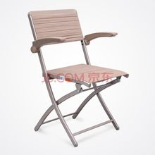 Steel Frame Upholstered Premium rubber Seat and Back Folding Chair with High elasticity