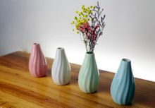 Ceramic Flower Vases Tabletop Flowerpots Ceramic Vase Home Decoration for Party Wedding Office Christmas Decro Hot Sale