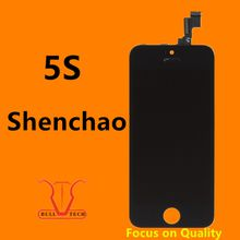 For Grade A+++ iPhone 5s 5SE LCD Display Touch Screen Digitizer Shenchao Brand Replacement Full Assembly