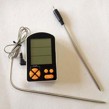 Cooking Kitchen Food Meat Thermometer with Alarm Monitored by iPhone & Android APP Supports 6 Probes for Smoker Grill Oven