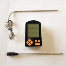 Meat Thermometer with Alarm Monitored by iPhone & Android APP Supports 6 Probes for Smoker Grill Oven