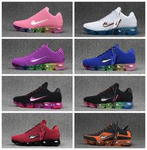 Latest Vapormax Plyknit Running Shoes Mens Trainers Tennis Vapor Maxes 2018 Shoes Man Women Kpu Sports Authentic Sneakers Size 5.5-13