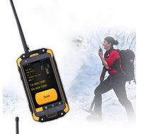 Android PTT rugged phone the most hot selling outdoor goods