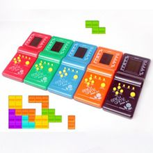 Classic Electronic Toys Handheld Game Tetris Game Animation Game Puzzle Toys