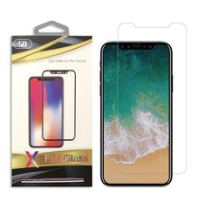 Top Sell 5D tempered glass screen protector for iPhone X 8 anti scratch 9H hardness Screen Protector Wholesale