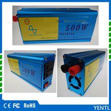 YENTL brand 500w Converter Adapter 500 Watt DC 12V to AC 220V ture Sine Wave 500W DC 24 to AC 220 Truck Car Power Inverter