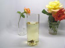 2017 hand blowing boro 3.3 glass single wall glass cup 300ml handmade tea cups fuji cup