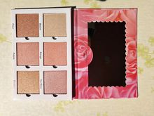 Violet Voss PRO Highlighter Faced ROSE GOLD Natural Love EyeShadow Palette Bronzers & Highlighters 6 color Glow
