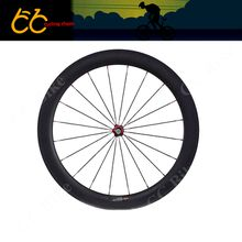 Free shipping23mm wideth of High quality 60mm clincher carbon front wheel 700C carbon road front wheel carbon bicycle wheel