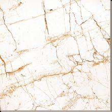 Inkjet Polished Glazed White Marble Tile Floor Ceramic Tiles