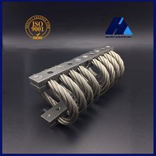 Vibration Shock Control Military Engine Stand Generating Set JGX-1278 Aluminum Stainless Steel Wire Rope Isolator