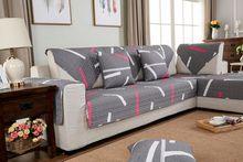 2018 SUPERIA simply four seasons for living room skidproof sofa cover set