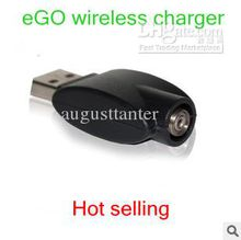 wireless eGo Battery Charger USB free shipping direct charge computer USB wireless charger usb charge adapter for all ego