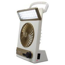 Outdoor lighting Portable Small Fan with solar led lamps energy storage outdoor Emergency camping flashlight Hanging lights