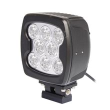 80W led work light spot flood 4x4 offorad led driving headlight for heavy construction excavator crane truck farm vehicles mining equipment
