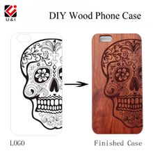 Make Your Own Design wood Phone Case for iPhone, Best Gift for Friend's Birthday and Christmas, mobile cover box package for i Phone