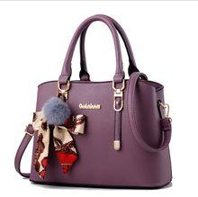 2016 Rushed Shoulder Bags Blue Grey Lavender 2017 New Handbag Bag Lady Europe Shoulder Messenger Pu Bag, Simple And Elegant Small Package