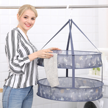 Factory direct 2018 new products Japanese style clothes basket drying clothes net bag big drying sweater coat clothes net