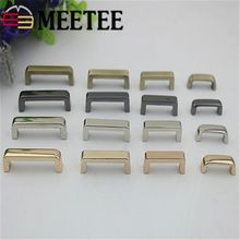 4pcs Gold,silver,gun Black,brass Metal Bag Accessories Metal Bridge with Screw for Bags Buckle Hardware Accessories