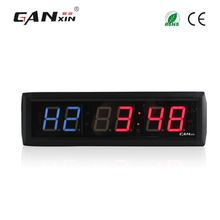 [GANXIN]1.8'' Blue and Red LED Interval Workout Timer Countdown Stopwatch/Led Gym Fitness Timer