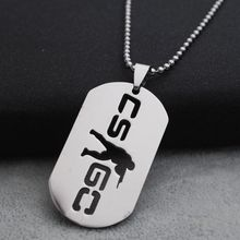 Game Global offensive Stainless Steel Pendant Necklace Counter Strike Necklace