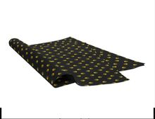 Black logo wrapping tissue paper for shirts/ tissue paper gift wrapping/ garment packing paper wrapping tissue paper