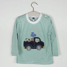 Fashion brand domeiland 2017 Kids Girl Clothes Print Rhinestone Cat Bow Long Sleeve T Shirts Elastic Spandex baby Clothing