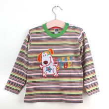 t shirts nova branded t shirts fall child tshirts stripe toddler shirts long sleeve kids clothes