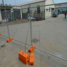temporary construction safety fence
